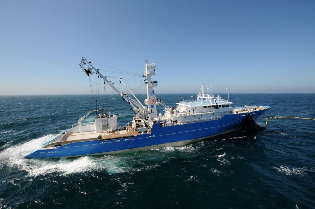 CatSat - Oceanography for fishing